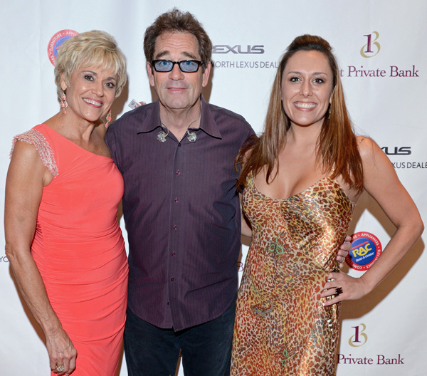 Cindy Sutley, Huey Lewis and Christa Carrell*