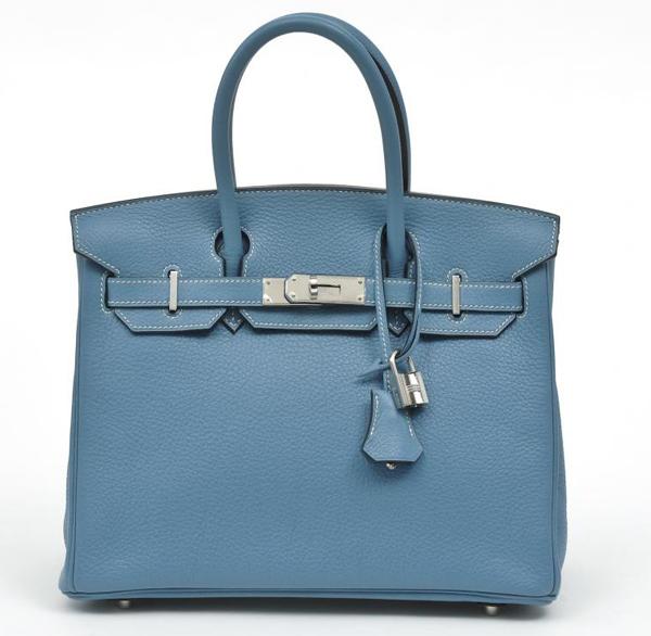 Hermes Birkin Blue Jean*