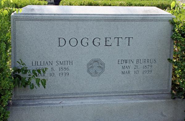 Margaret Crow's parents' headstone (File photo)