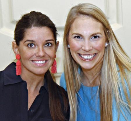 Marjon Zabihi Henderson and Hayley Louden