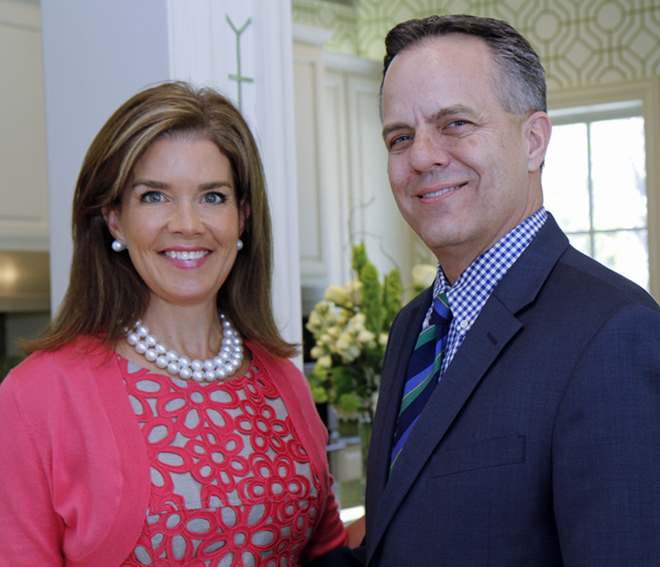 Lisa Troutt and Dan Bailey