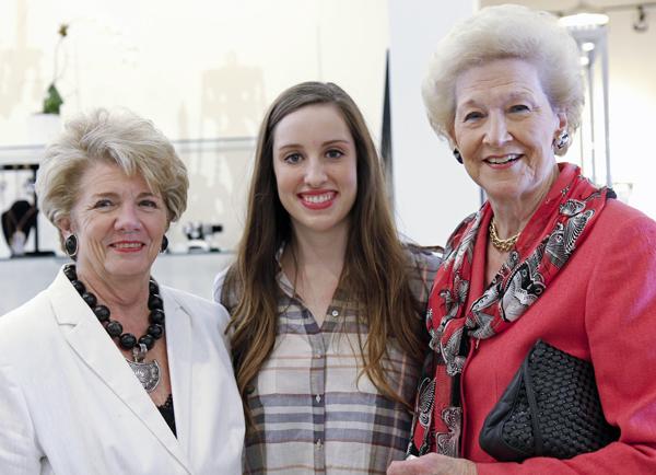 Emilynn Wilson, Rachel Cowlishaw and Patricia Cowlishaw