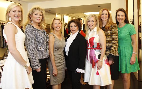 Amy Hegi, Gail Fischer, Mary Martha Pickens, Lauren Gayle White, Leigh Anne Haugh, Tiffany Divis and Angela Nashs