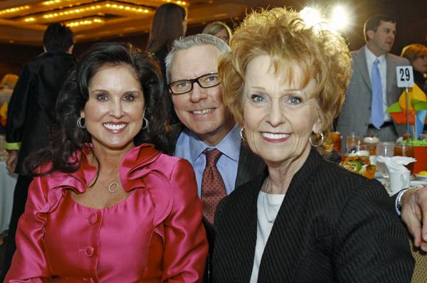 Wendy Messmann, Ronnie Berg and Marti Carlin