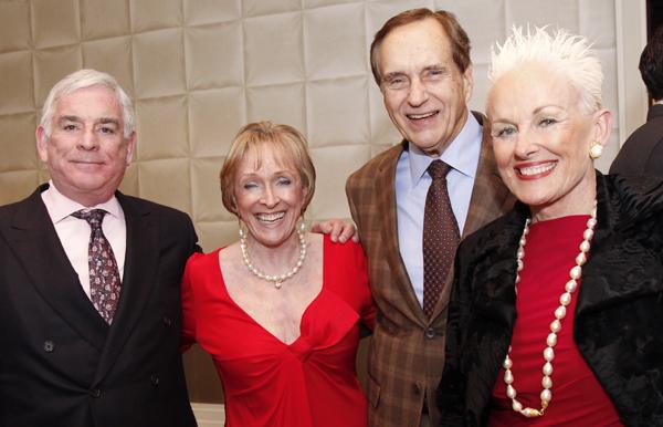 Ben  Fisher, Laree Hulshoff, Barbara and Don Daske