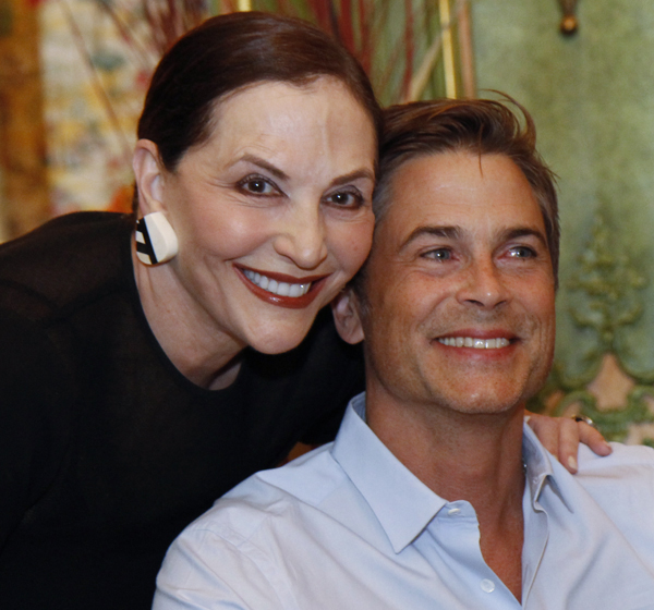 Jan Miller and Rob Lowe