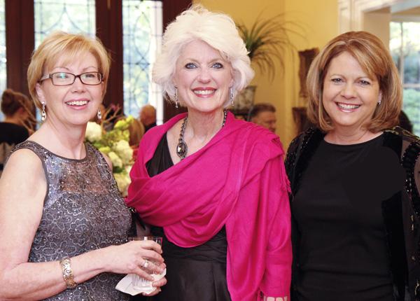Leslie McCabe, Jan Langbein and Barbara Walker