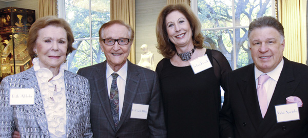 Ruth and Ken Altshuler, Sidney Powell and Victor Sperandeo