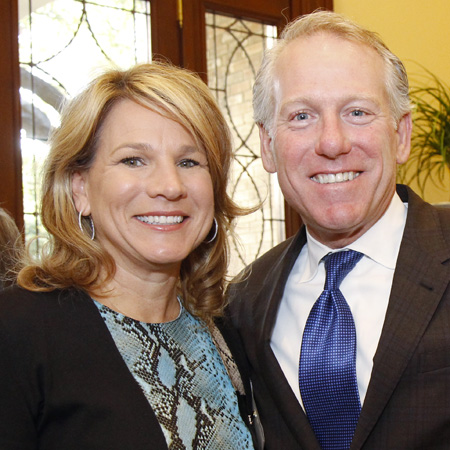 Jennifer Staubach Gates and John Gates