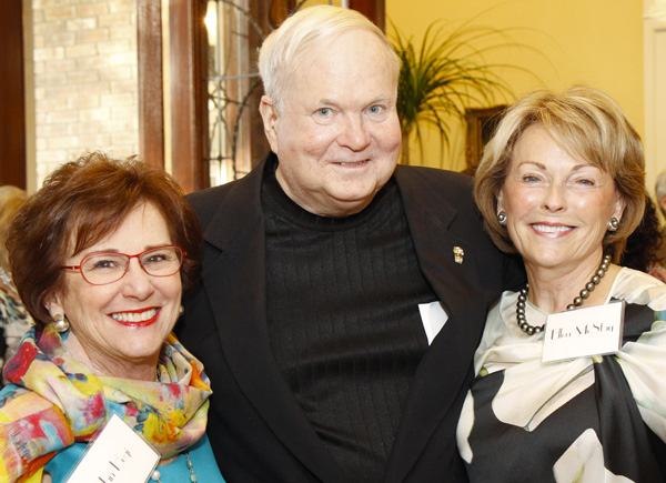 Jan Hegi, Pat Conroy and Ellen McStay