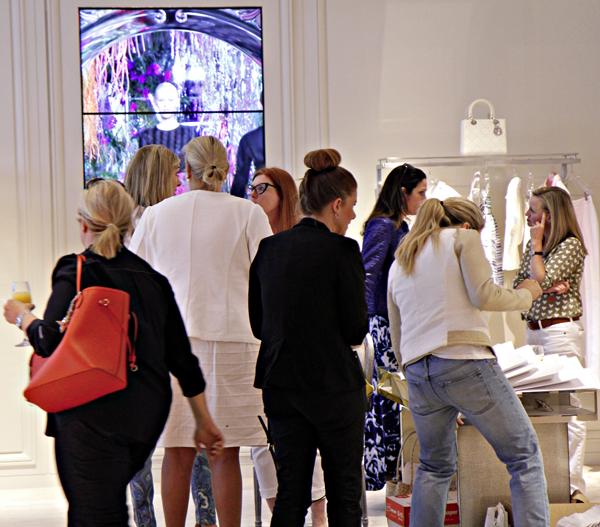 CBB raffle kick off at Christian Dior