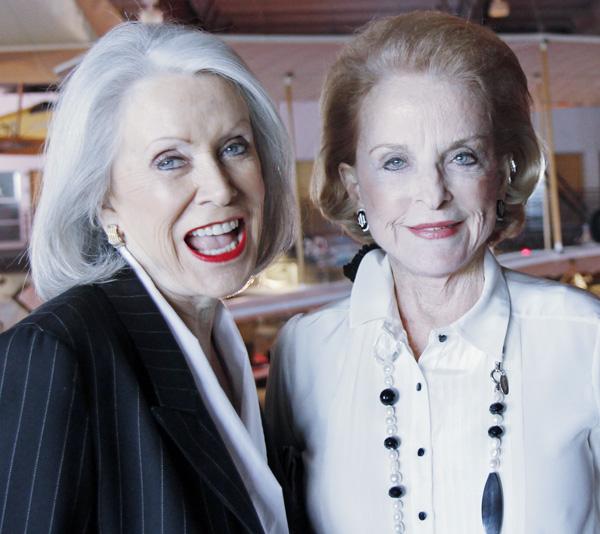 Jenny Reeves and Nancy Dedman