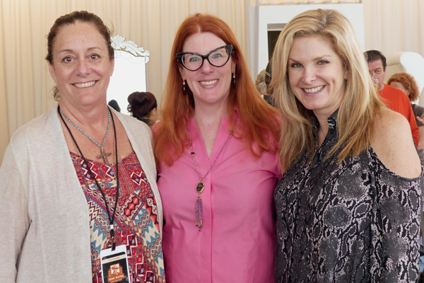 Anita Swift, Anne Stodghill and Tanya Foster