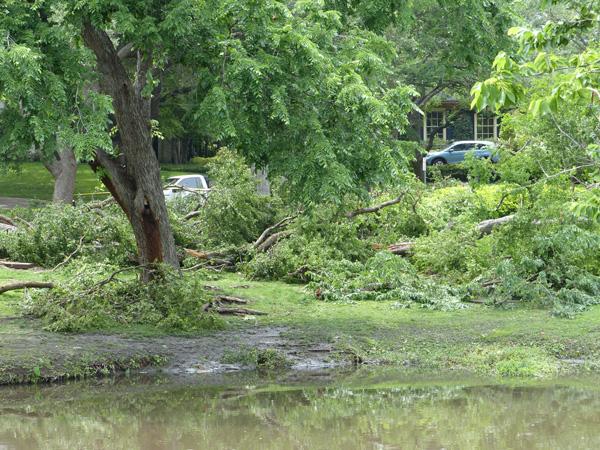 May 8 storm damage