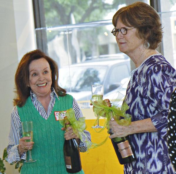 Judy Kelly and Ginny Martin