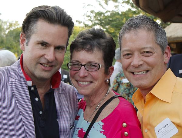Keith Schumann, Diane Brierley and Matthew Simon