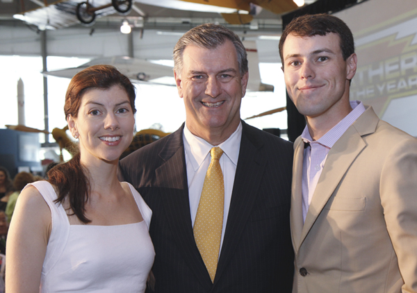 Daddy-O's Joel Allison, Dan Novakov And Mike Rawlings Honored At Father Of The Year Award Luncheon
