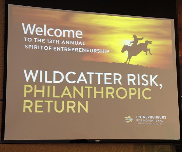 Wildcatter Risk, Philanthropic Return