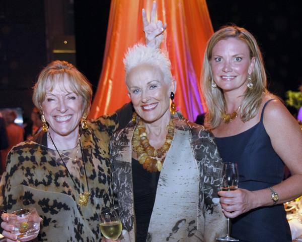 Laree Hulshoff, Barbara Daseke and Carri Carter