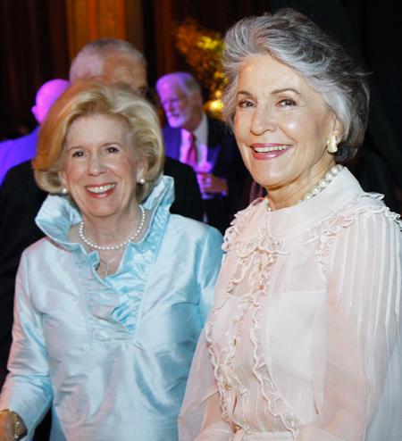 Becky Bright and Linda Custard