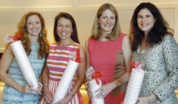 Tiffany Divis, Angela Nash, Piper Wyatt and Elizabeth Gambrell