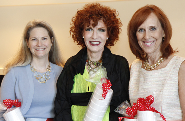 Kristina Whitcomb, Sarah Losinger and Susan Farris