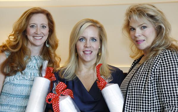 Tiffany Divis, Leigh Anne Haugh and Gail Fischer