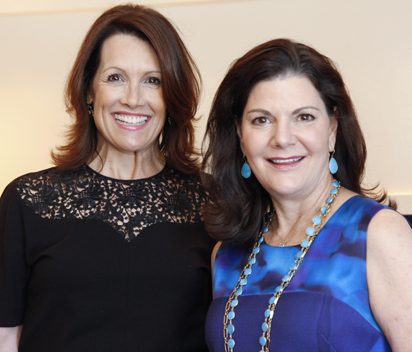 Pam Perella and Libby Allred