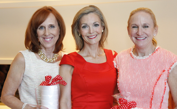Susan Farris, Katherine Coker and Janie Condon