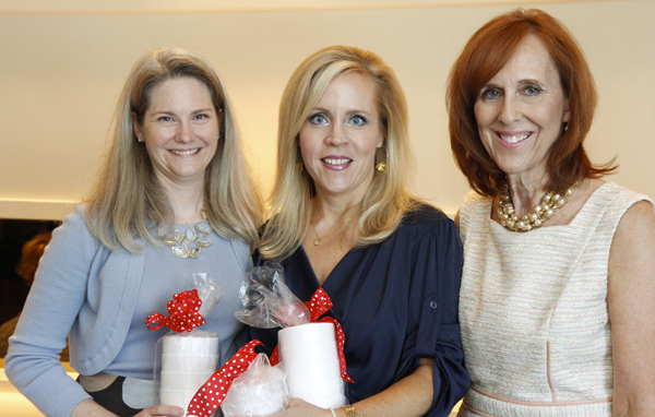 Kristina Whitcomb, Leigh Anne Haugh and Susan Farris