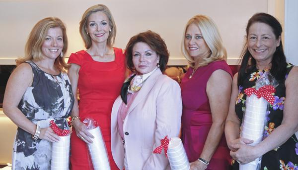Paige Slates, Katherine Coker, Lauryn Gayle White, Ann Dyer and Vinne Reuben