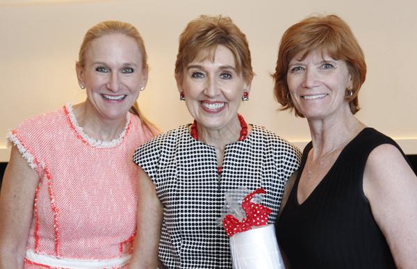 Janie Condon, Suzy Gekiere and Beth Thoele