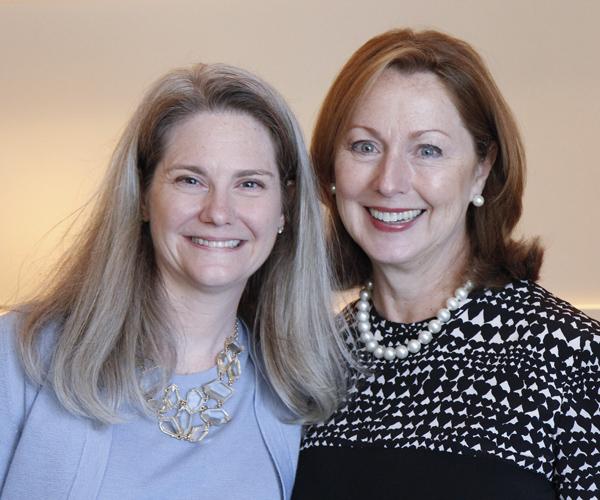 Kristina Whitcomb and Linda Secrest