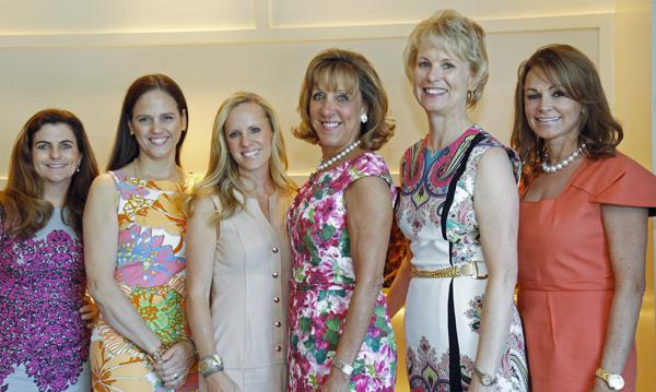 Melissa Macatee, Angie Kadesky, Alicia Wood, Robyn Conlon, Patty Leyendecker and Claire Emanuelson