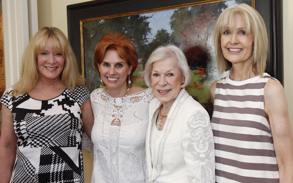 Emily Anderson, Jolie Humphrey, Faye Briggs and Karen Settle