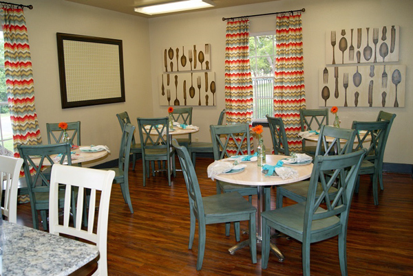 The Ebby House dining room*