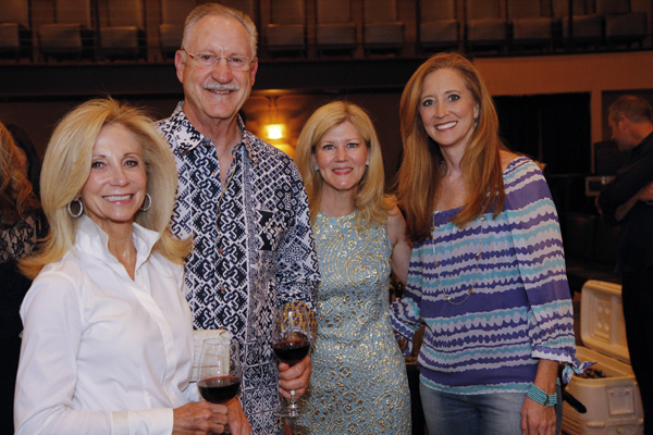 Rosie and Mike Moncrief, Ellen Winspear and Tiffany Divis