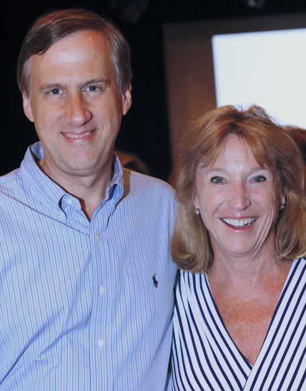 Keith Cerny and Holly Mayer
