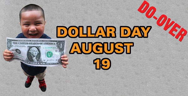 Dollar Day Do-Over*