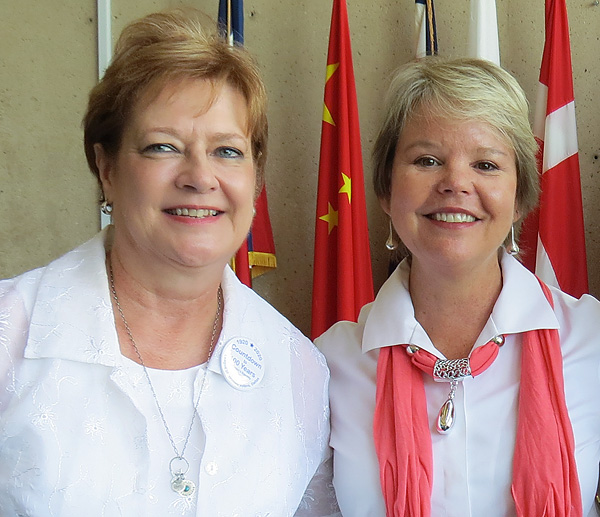 Theresa Daniel and Keven Ann Willey*