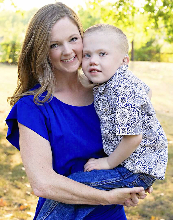 Dawnda Daniel and son Coulter*
