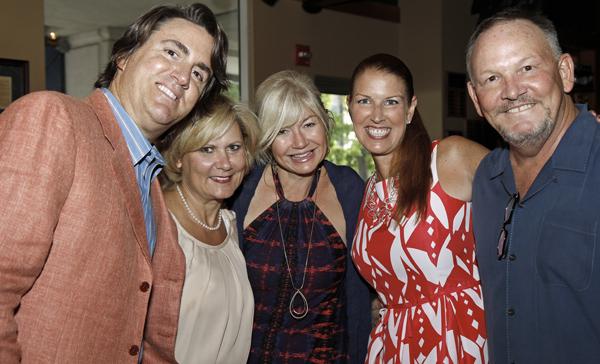 Edward and Sissy Hicks, Ashlee Kleinert, Hayley Hamilton Cogill and Gary Cogill