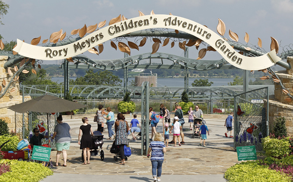 Rory Meyers Children's Garden entrance (File photo)