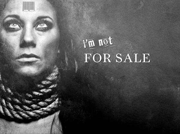 """I'm not for sale""*"