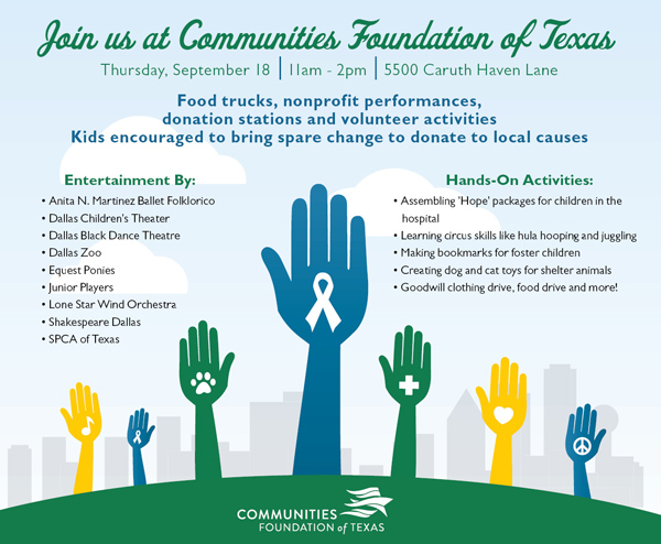 North Texas Giving Day activities*