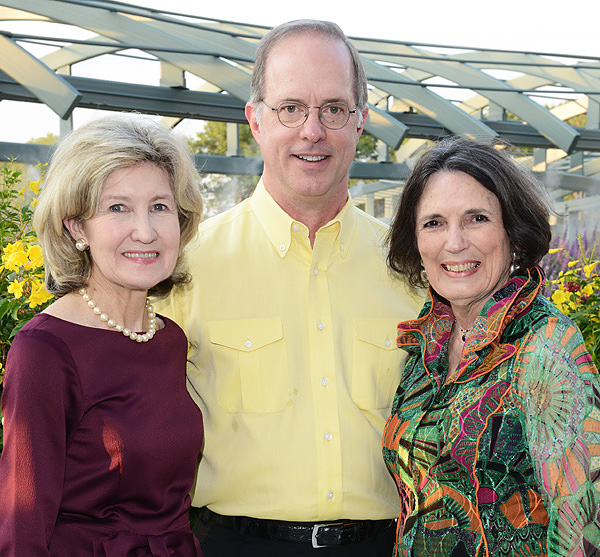 Kay Bailey Hutchison, Brian Shivers and Kaki Hopkins*