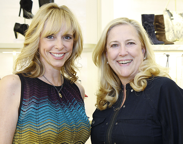 Cindy Stager and Gina Betts