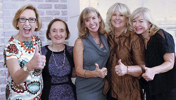 Roslyn Dawson Thompson, Betty S Regard, Jan Osborn, Robin Bagwell and Ashlee Kleinert