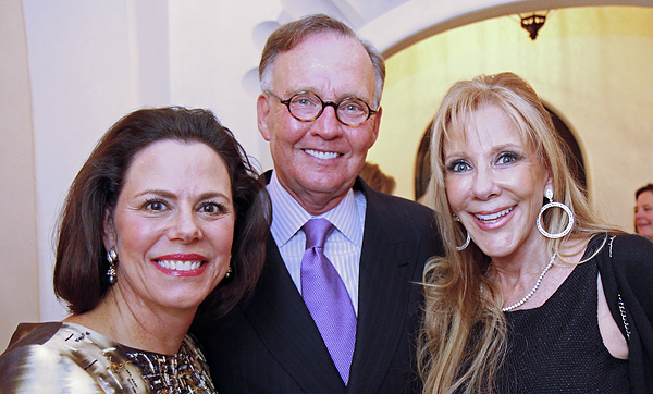 Michal Powell, Doug Houser and Mary Clare Finney