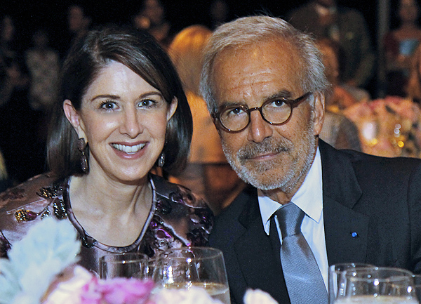 Karen Katz and Ralph Toledano